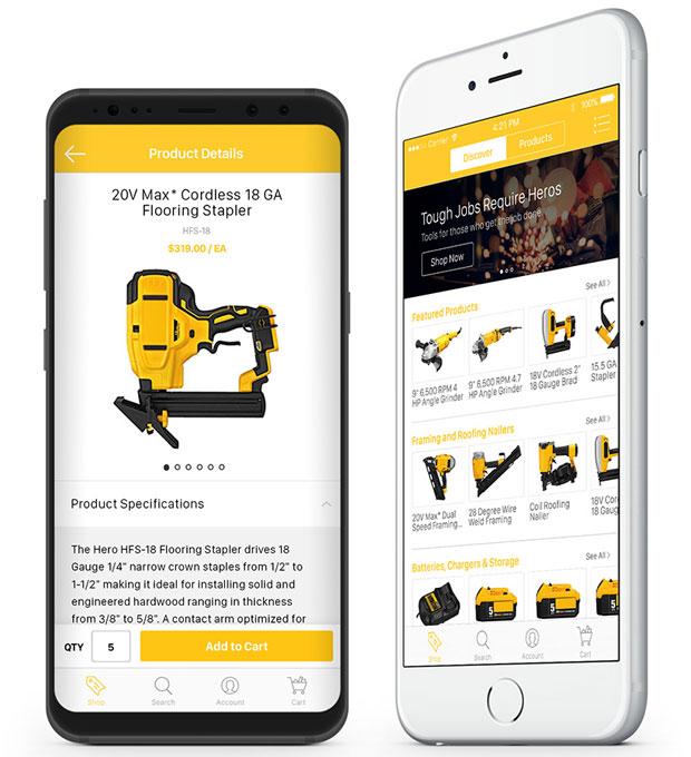 84817 620x680 New Mobile App Promises Full B2B E Commerce Experience