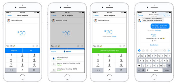 84899 620x292 small PayPal Lets Messenger Users Send Money to Buddies