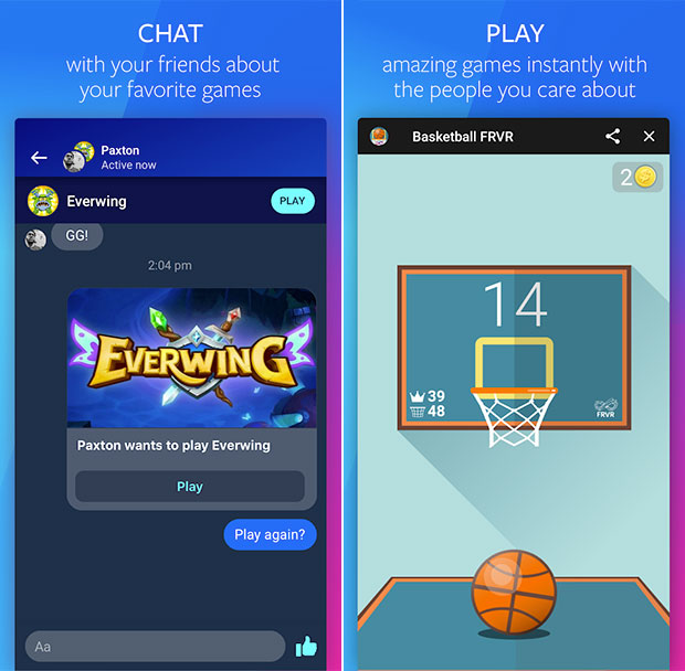 Facebook Gaming: Chat, Play