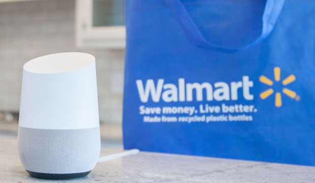 walmart now lets shoppers use voice commands with google assistant to order groceries